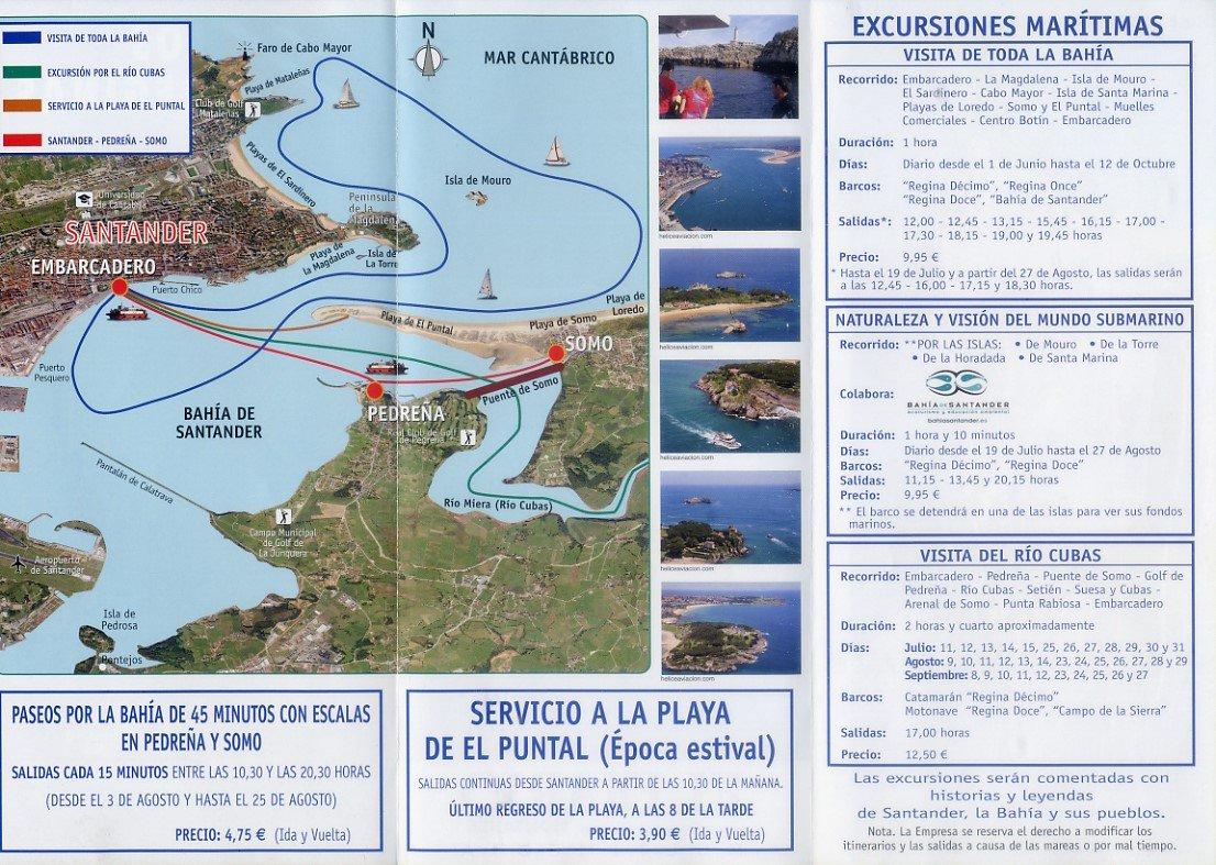 Excursión en barco por Santander